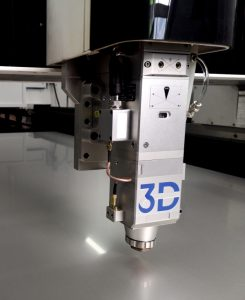 Laserkopf der 3D Dynamics