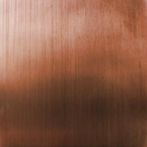 Bild einer Kupferoberfläche